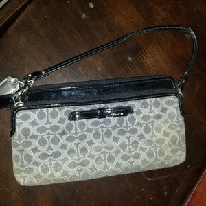 Coach wristlet, gently used